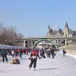 Skaters on the Rideau Canal, Ottawa