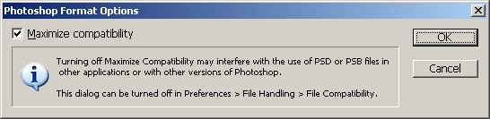 Photoshop dialog box