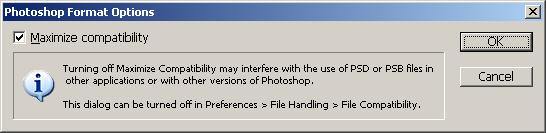 Photoshop dialog box