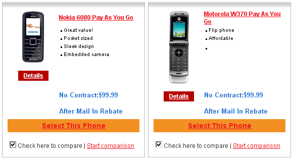 Rogers Wireless phone features