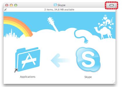 Skype installation window