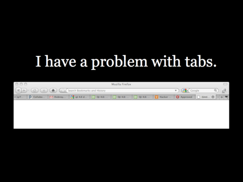 A Study of Tabbed Browsing - Slide 2